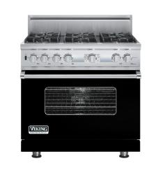 Brand: Viking, Model: VDSC536T6BSG, Fuel Type: Black, Natural Gas