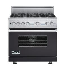 Brand: Viking, Model: VDSC536T6BSG, Fuel Type: Graphite Gray, Natural Gas