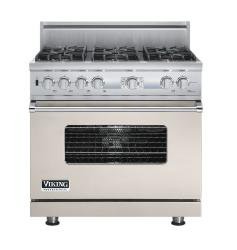 Brand: Viking, Model: VDSC536T6BSG, Fuel Type: Oyster Gray