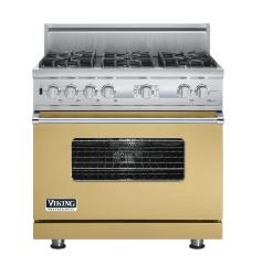 Brand: Viking, Model: VDSC536T6BSG, Fuel Type: Golden Mist