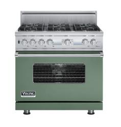 Brand: Viking, Model: VDSC536T6BCW, Fuel Type: Mint Julep
