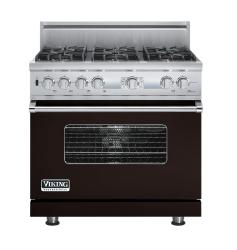Brand: Viking, Model: VDSC536T6BCW, Fuel Type: Chocolate