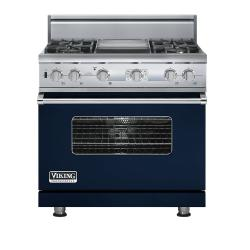 Brand: Viking, Model: VDSC536T4GGG, Color: Viking Blue
