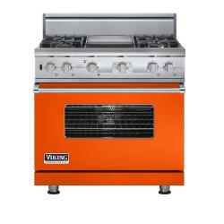 Brand: Viking, Model: VDSC536T4GSA, Color: Pumpkin