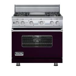 Brand: Viking, Model: VDSC536T4GSA, Color: Plum