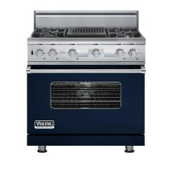 Brand: Viking, Model: VDSC536T4QAR, Color: Viking Blue