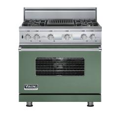 Brand: Viking, Model: VDSC536T4QAR, Color: Mint Julep