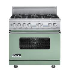 Brand: Viking, Model: VDSC536T4QAR, Color: Sage