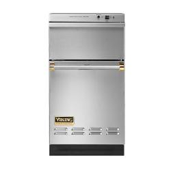 Brand: Viking, Model: VUC181GMBR, Color: Stainless Steel with Brass Trim