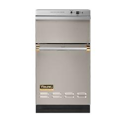 Brand: Viking, Model: VUC181VBBR, Color: Oyster Gray with Brass Accent