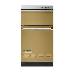 Brand: Viking, Model: VUC181GMBR, Color: Golden Mist with Brass Accent