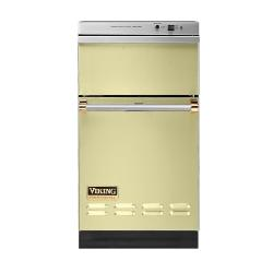 Brand: Viking, Model: VUC181GMBR, Color: Lemonade with Brass Accent