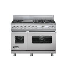 Brand: Viking, Model: VDSC548T6GTP, Fuel Type: Metallic Silver