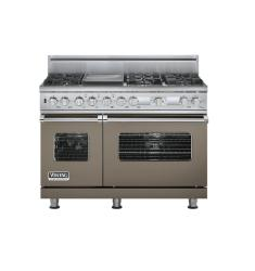 Brand: Viking, Model: VDSC548T6GTP, Fuel Type: Stone Gray,  Natural Gas