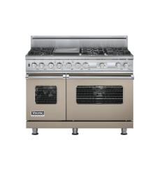 Brand: Viking, Model: VDSC548T6GTP, Fuel Type: Taupe