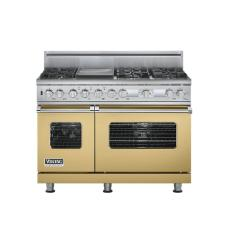 Brand: Viking, Model: VDSC548T6GWHLP, Fuel Type: Golden Mist