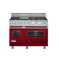Brand: Viking, Model: VDSC548T6GSS, Fuel Type: Apple Red, Natural Gas