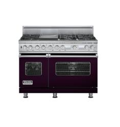 Brand: Viking, Model: VDSC548T6GSS, Fuel Type: Plum