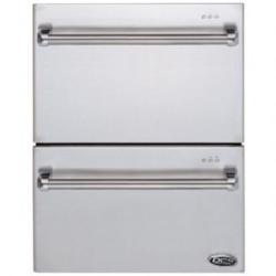 Brand: DCS, Model: DD242DPT, Style: Integrated Double Dish Drawer
