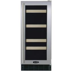Brand: MARVEL, Model: 3SBAREBSGR, Color: Stainless Steel Frame Glass Door