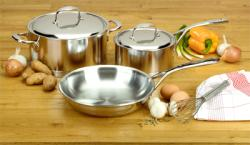 Brand: MIELE, Model: DEMSET41055, Style: DeMeyere Cookware Set