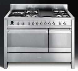 Brand: SMEG, Model: A3XU6, Color: Stainless Steel