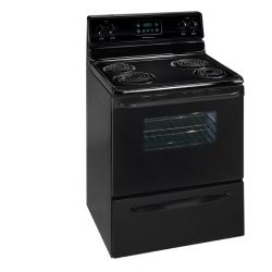 Brand: Frigidaire, Model: FEF326FQ, Color: Black