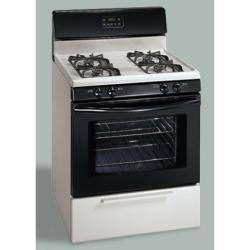 Brand: Frigidaire, Model: FGF337EW, Color: Bisque/Black Accents