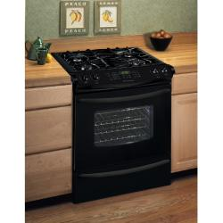 Brand: Frigidaire, Model: GLGS389FQ, Color: Black