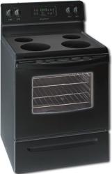 Brand: FRIGIDAIRE, Model: FEF366E, Color: Black-on-Black