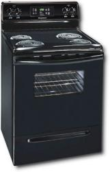 Brand: Frigidaire, Model: FEF352FW, Color: Black