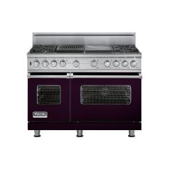 Brand: Viking, Model: VDSC5484GQBR, Color: Plum