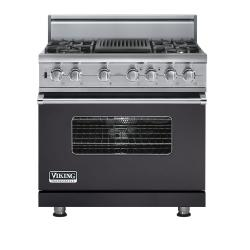 Brand: Viking, Model: VDSC5364QDJ, Fuel Type: Graphite Gray, Natural Gas