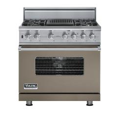 Brand: Viking, Model: VDSC5364QDJ, Fuel Type: Stone Gray, Natural Gas