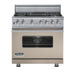Brand: Viking, Model: VDSC5364QDJ, Fuel Type: Taupe