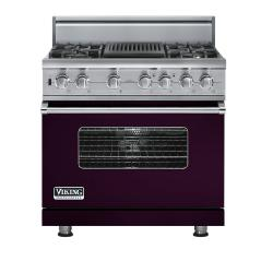 Brand: Viking, Model: VDSC5364QLE, Fuel Type: Plum