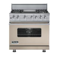 Brand: Viking, Model: VDSC5364GWHBR, Fuel Type: Taupe