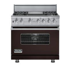 Brand: Viking, Model: VDSC5364GWHBR, Fuel Type: Chocolate