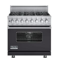 Brand: Viking, Model: VDSC5366BLE, Fuel Type: Graphite Gray, Natural Gas