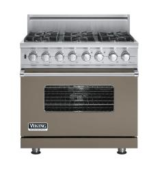 Brand: Viking, Model: VDSC5366BLE, Fuel Type: Stone Gray, Natural Gas