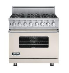 Brand: Viking, Model: VDSC5366BLE, Fuel Type: Oyster Gray