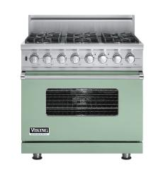Brand: Viking, Model: VDSC5366BSGLP, Fuel Type: Sage