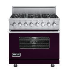 Brand: Viking, Model: VDSC5366BSGLP, Fuel Type: Plum