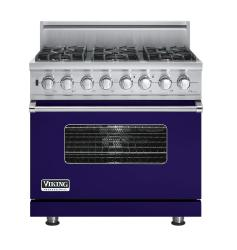 Brand: Viking, Model: VDSC5366BSGLP, Fuel Type: Cobalt Blue, Natural Gas