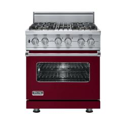 Brand: Viking, Model: VDSC5304BCH, Fuel Type: Burgundy - Natural Gas