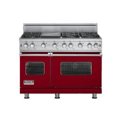 Brand: Viking, Model: VGCC5486GSS, Fuel Type: Apple Red - Natural Gas
