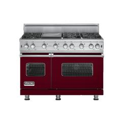 Brand: Viking, Model: VGCC5486GBULP, Fuel Type: Burgundy - Natural Gas