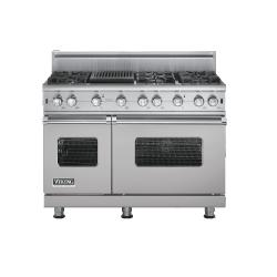 Brand: Viking, Model: VGCC5486QSSLP, Fuel Type: Metallic Silver