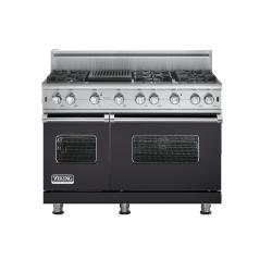 Brand: Viking, Model: VGCC5486QSSLP, Fuel Type: Graphite Gray - Natural Gas
