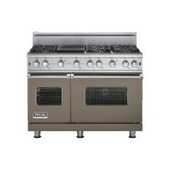 Brand: Viking, Model: VGCC5486QSSLP, Fuel Type: Stone Gray - Natural Gas